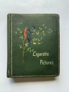 Antique-Cigarette-Pictures-Album-Birds-Wills-and-John-Player-many-part-sets