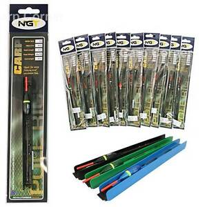 Lot-Of-10-x-Pole-Float-Carp-Match-Fishing-Tackle-BARBLESS-Ready-Tied-Pole-Rigs