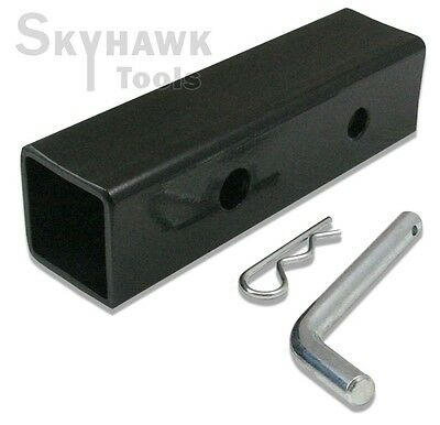 "New 2"" to 1-1/4"" Hitch Receiver Adapter Converter Reducer Trucks RV Trailers"