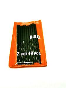 2 x Forêt HSS 2mm                                                          PCF20