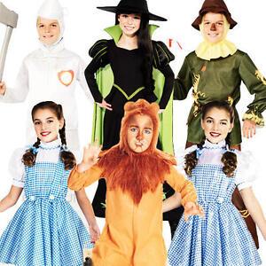 Wizard of Oz Kids Fancy Dress Book Week Fairytale Boys Girls Childrens Costume