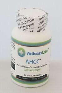 Detalles acerca de Compuesto correlacionado de hexosa activa AHCC () 60  cápsulas de 500 MG - mostrar título original