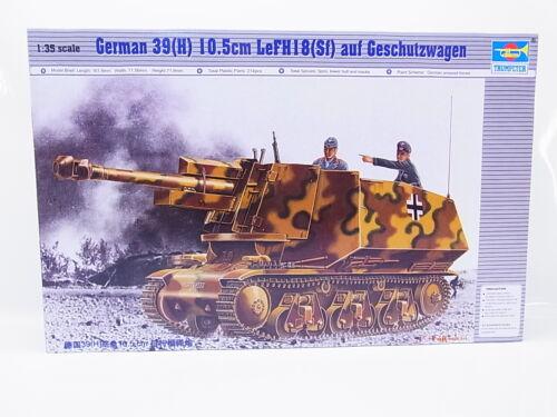55357Trumpeter 00353 German 10.5 Geschützwagen 1:35 Bausatz NEU OVP
