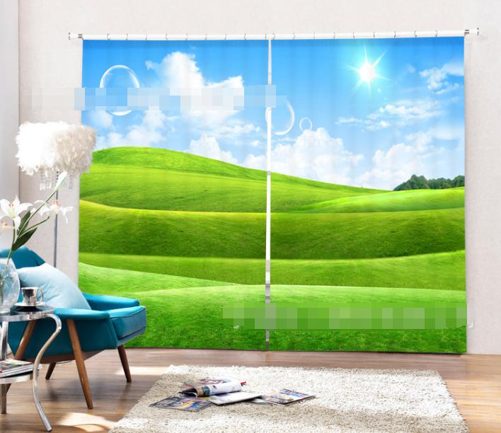 3d fresco prato 476 blocco foto sipario pressione sipario tende tessuto finestra de
