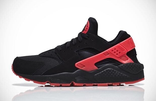 Nike Air Huarache Love Hate Pack Black 700878-006 QS