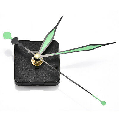 Noctilucent Quartz Wall Clock Spindle Silent Movement Mechanism Part Repair Set