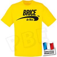 Tee-shirt Jaune brice De Nice V1  Taille S,m,l,xl,2xl. V1