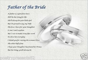 FATHER OF THE BRIDE GIFT From Groom BRIDES DAD