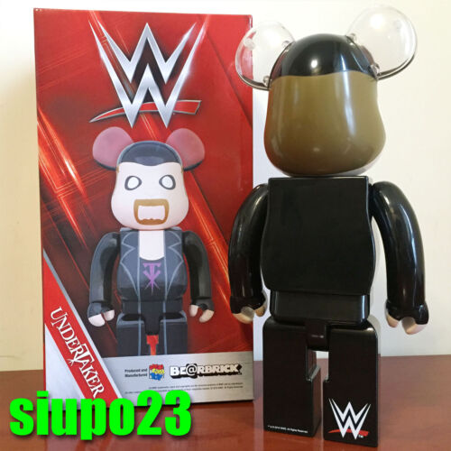 Medicom 400/% Bearbrick ~ The Undertaker Be@rbrick WWE