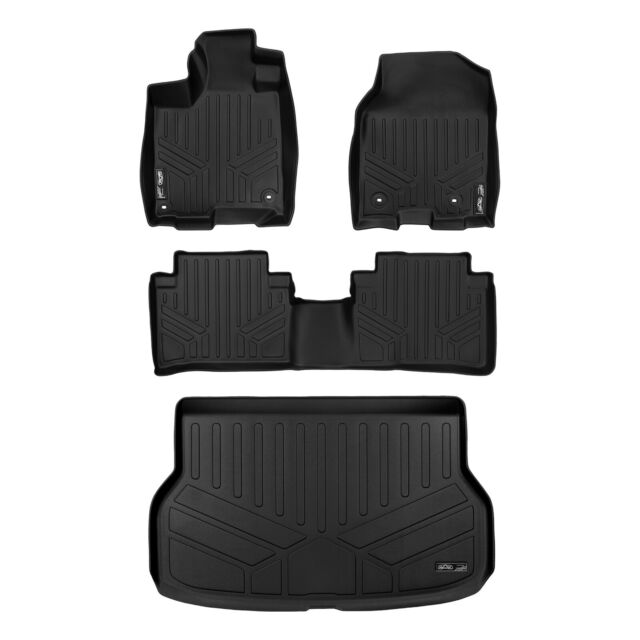 MAXLINER All Weather Floor Mats Set And Cargo Liner Bundle