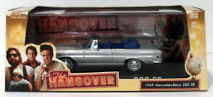 Greenlight-1-43-Scale-86461-1969-Mercedes-Benz-280SE-Conv-The-Hangover-Silver