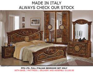 580 Italian Bedroom Furniture Set Best HD