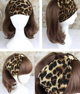 Hair Band Head Wrap Accessories Women Elegant Elastic Headband Hairband US