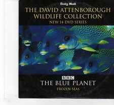 (FR339) Daily Mail, David Attenborough, The Blue Planet Frozen Seas - DVD