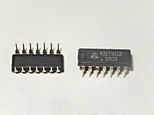 4-x-K157UD2-K157-2-LM301-Dual-Operational-Amplifier-IC-USSR-NOS-NIB