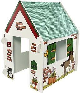 Playhouse for Children   Green Farm design   Indoor playhouse ...