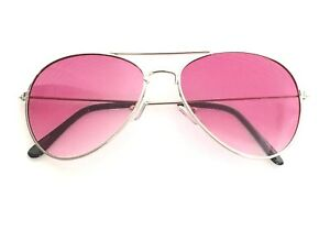 New Shades Pilot Sunglasses Mirrored Classic Party Hot Lunette Gold Frame