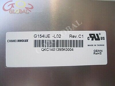 "New  G154IJE-L02 G154IJE-L02 REV C1  15""1280*800 LCD panel 90 days warranty"