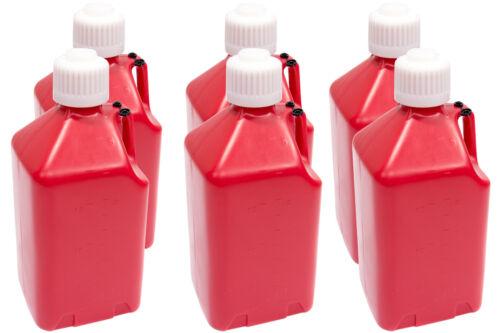 SCRIBNER Utility Jug Case 6 2000R-CASE 5-Gallon Red