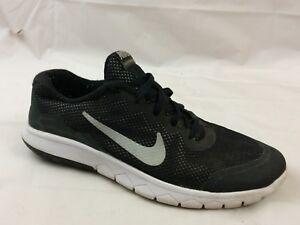 f794c78b3fc4f Nike Boys 7 Youth Flex Experience RN 4 Running Sneaker Shoes Black ...