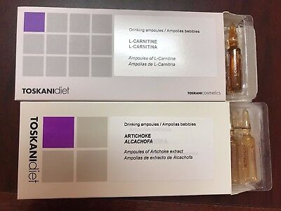Toskani Diet L Carnitine And Artichoke Extract Ampule Set Ebay