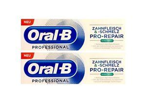 2x-Oral-B-Professional-Zahnfleisch-und-Zahnschmelz-Pro-Repair-extra-frisch-75-ml