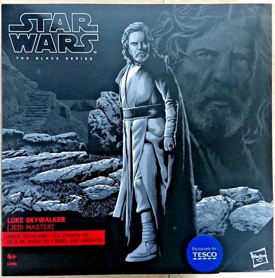 Exclusiv für Tesco B Luke Skywalker Jedi Master auf Schwarze Serie Star Wars