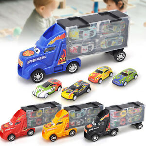 Carrier-Container-Truck-Car-Model-Vehicle-Kids-Educational-Toy-Christmas-Gift