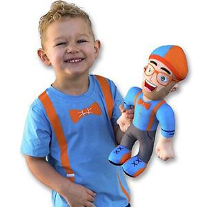 11-039-039-28cm-Blippi-Plush-Figure-Toy-Soft-Stuffed-Doll-Kids-Birthday-Figure-Gifts