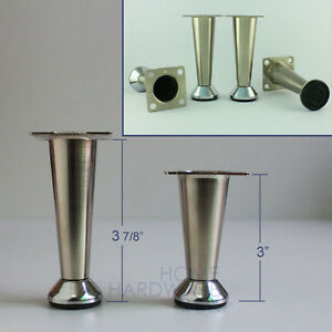 Furniture Legs Stainless Steel metal table legs stainless steel ffeet furniture cabinet mini