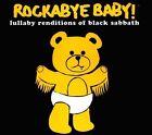 Rockabye Baby! Lullaby Renditions of Black Sabbath [Slipcase] by Rockabye Baby! (CD, Jul-2010, Rockabye Baby!)