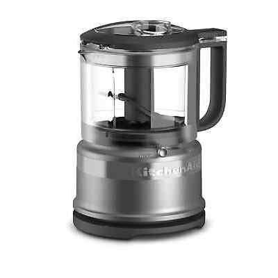Kitchenaid 3.5 Cup Food Chopper, Contour Silver, KFC3516CU
