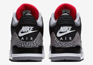 Retro Zapatillas Ogman Iii 88 Jordan 885177850289 Us 3 Cement Black Air Hombres 5 9 2018 Nike Jumpman qSfUII