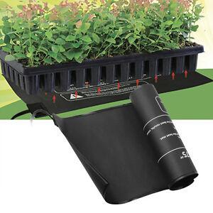 heizmatte 52 x 25cm 18 watt gew chshaus heizung grow anzucht heizmatte ebay. Black Bedroom Furniture Sets. Home Design Ideas