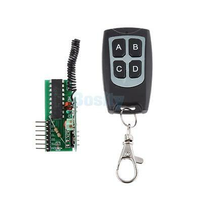 4 Key Wireless RF Remote Control 315MHZ Receiver Module for Arduino