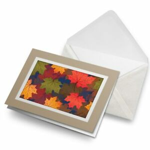 Greetings-Card-Biege-Autumn-Leaves-Leaf-Tree-Winter-14857