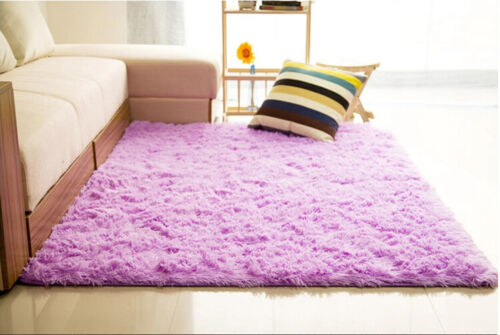 Soft fluffy carpet living children/'s room warm plush floor  faux fur 80*160cm
