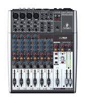 Behringer 1204usb 12-channel Usb Mixer Board W/ Phantom-powered Mic Preamp