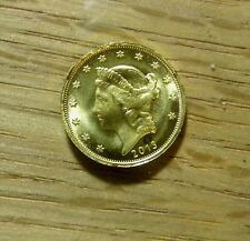2013 1/10oz Gold American Liberty Edged Round Fractional Frontier Style -REDUCED
