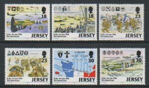 Jersey-1994-Anniversaire-De-Jour-J-Ensemble-MNH-Sg-659-64