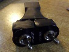 Hazard headlamp popup toggle switch Mazda MX-5 mk1 JASS vintage black s/s, MX5