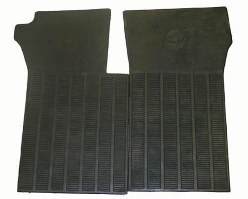 1963-1967 Corvette Black Rubber Floor Mat