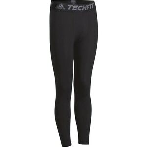 Adidas Tech-Fit Base Mens Long Compression Tights Rugby Running ... cc194236ea9d