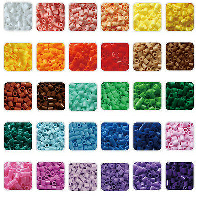 1000pcs 5mm 24 Colors Beads for GREAT Kids Fun Craft -Choose Your Favorite Color