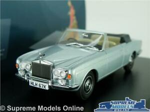 Rolls-Royce-Corniche-coche-modelo-escala-1-43-Azul-Oxford-43RRC003-georgiano-Plateado-T