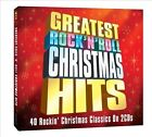 Greatest Rock 'n' Roll Chistmas Hits by Various Artists (CD, Jan-2013, 2 Discs, One Day Music)