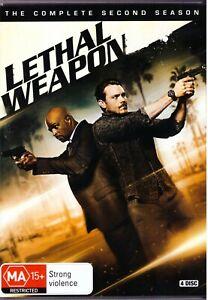Lethal-Weapon-Season-2-DVD-2019-4-Disc-Set