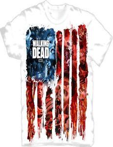 The-Walking-Dead-T-Shirt-American-Gore-Gr-S