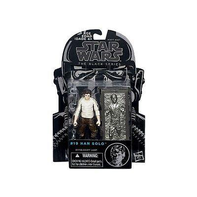 "Star Wars The Black Series 3.75/"" #19 Han Solo Carbonite Figure NEW LOOSE B1758"