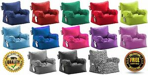 Image Is Loading Big Joe Dorm Bean Bag Chair Multiple Colors